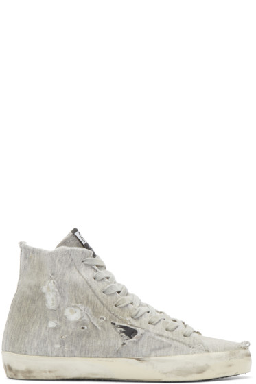 Golden Goose - Grey Francy High-Top Sneakers