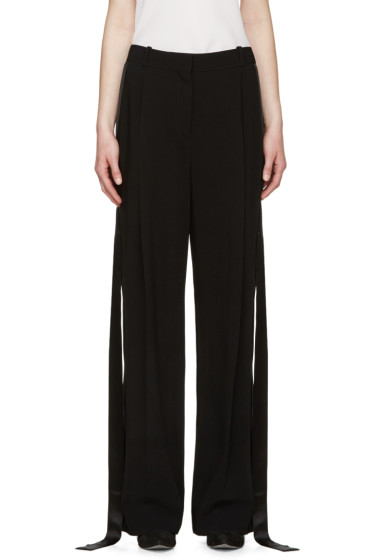 Givenchy - Black Tuxedo Trousers