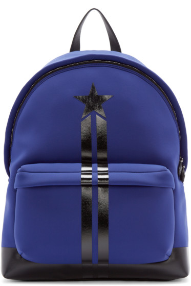 Givenchy - Blue Neoprene Backpack
