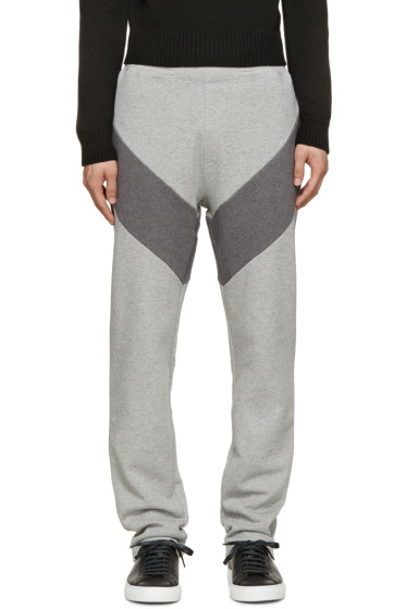 Givenchy - Grey Panelled Lounge Pants