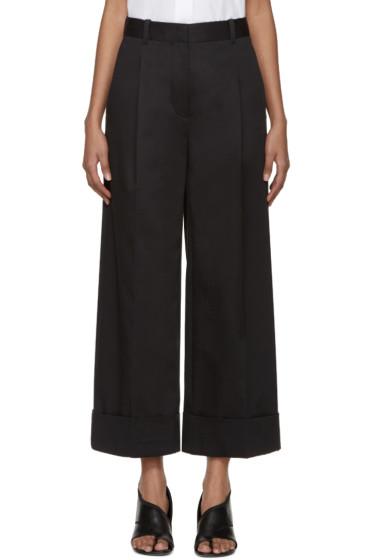 3.1 Phillip Lim - Navy Wide-Leg Trousers
