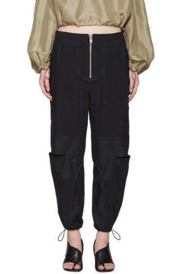 3.1 Phillip Lim - Navy Cut-Out Cargo Pants