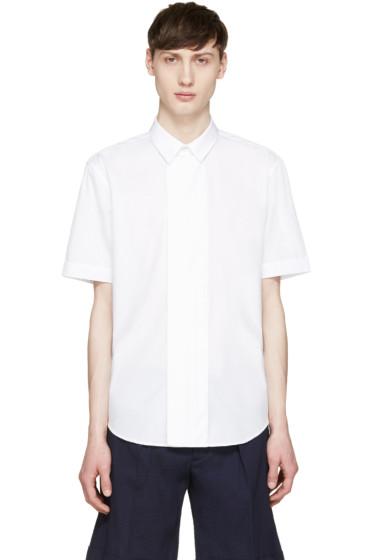 Carven - White Short Sleeve Shirt