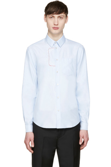 Carven - Blue Embroidered Shirt