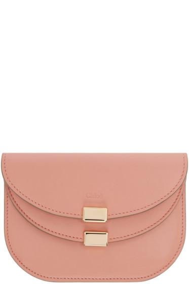 Chloé - Pink Georgia Card Holder