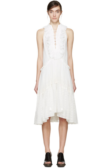 Chloé - White Bohemian Dress