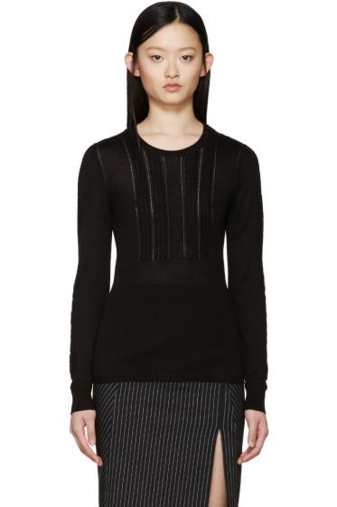 Burberry Prorsum - Black Cashmere Sweater