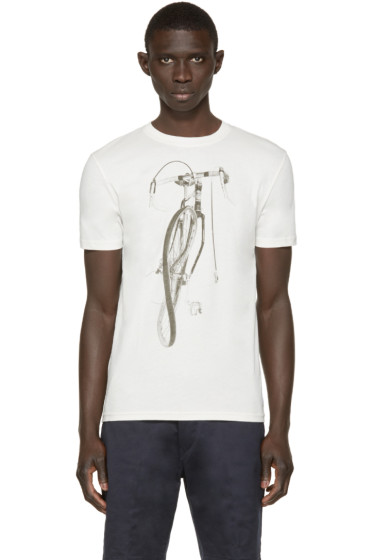 Paul Smith Jeans - Off-White Bike T-Shirt