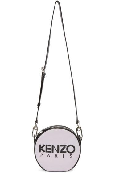 Kenzo - Pink Logo Circle Shoulder Bag