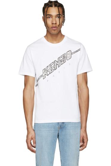 Kenzo - White Print T-Shirt