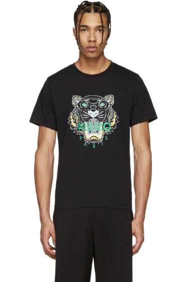 Kenzo - Black Tiger Logo T-Shirt
