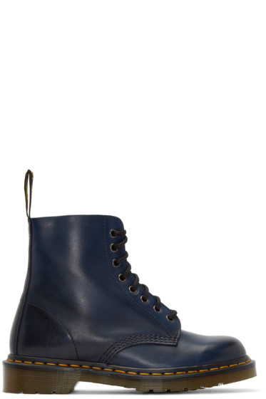 Dr. Martens - Navy Eight-Eye Pascal Boots
