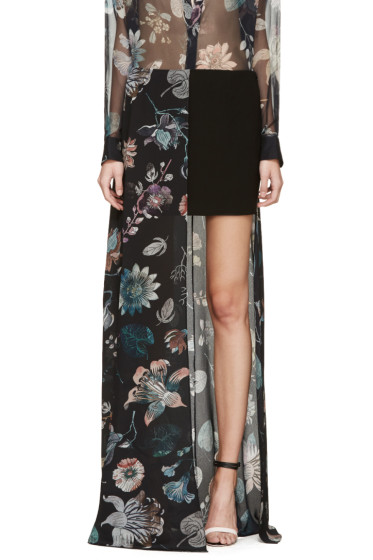 Versus - Multicolor Floral Anthony Vaccarello Edition Skirt