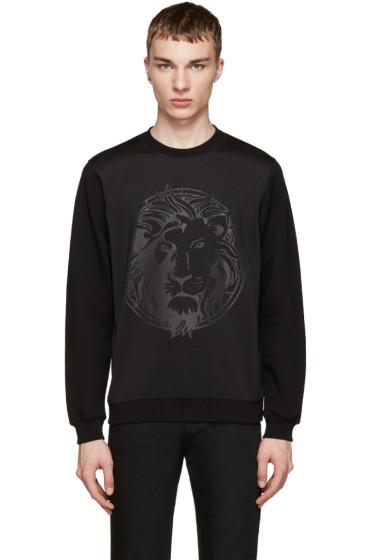 Versus - Black Embossed Lion Sweatshirt
