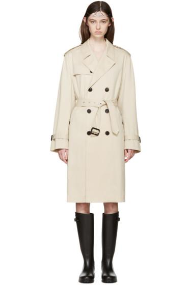 Saint Laurent - Tan Trench Coat