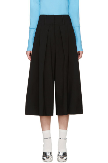 J.W.Anderson - Black Pleated Culottes