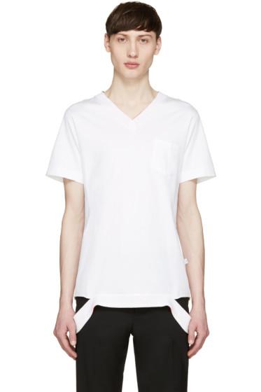 Facetasm - White Pop Color T-Shirt
