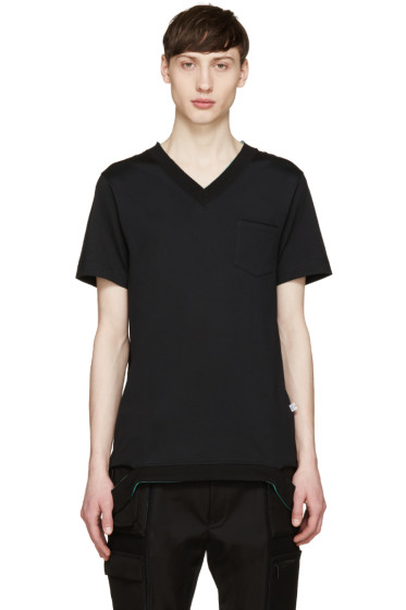 Facetasm - Black Pop Color T-Shirt