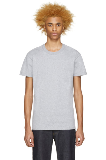 Naked & Famous Denim - Grey Seamless T-Shirt