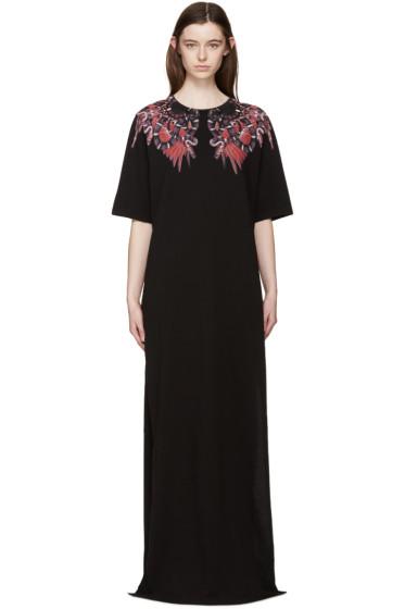 Marcelo Burlon County of Milan - Black Long Heredia Dress