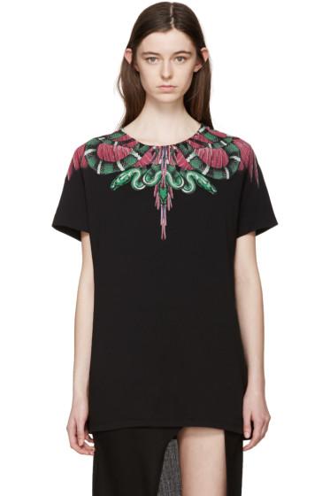Marcelo Burlon County of Milan - Black Graphic T-Shirt