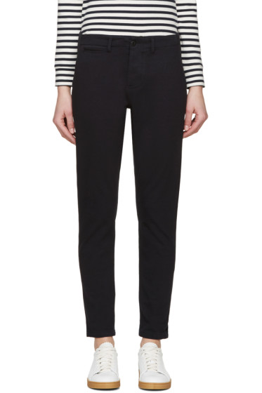 NLST - Navy Jersey Trousers