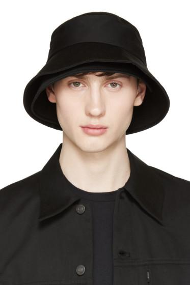 Lad Musician - Black Layered Bucket Hat
