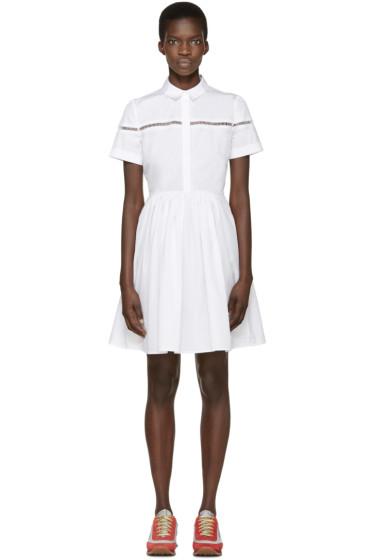 Burberry London - White Poplin Lori Shirt Dress