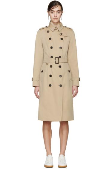 Burberry London - Beige Extra-Long Sandringham Trench Coat