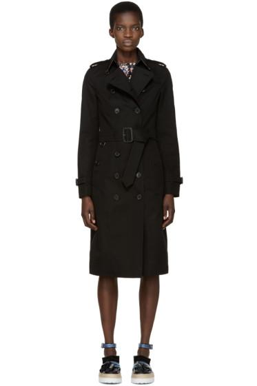 Burberry London - Black Sandringham Trench Coat