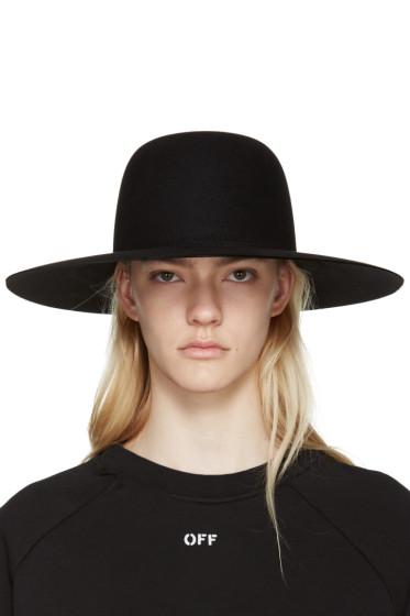 Off-White - Black Wide-Brim Hat