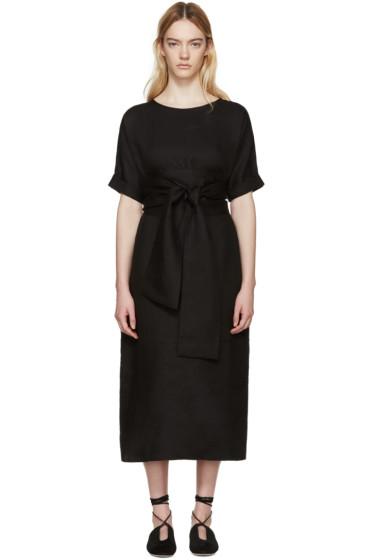 Studio Nicholson - Black Linen Sistina Dress