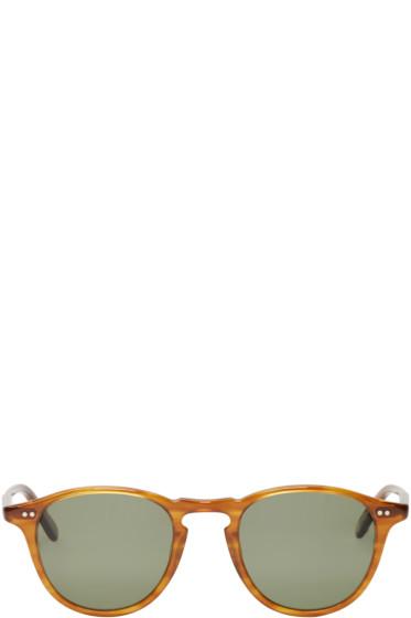 Garrett Leight - Brown Hampton Sunglasses