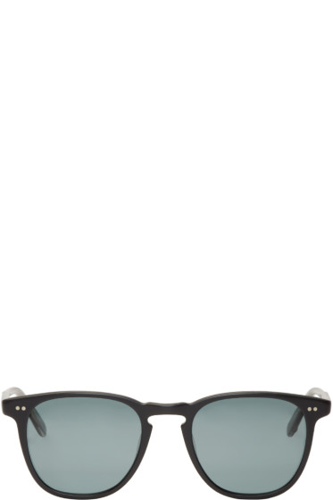 Garrett Leight - Black Matte Brooks Sunglasses
