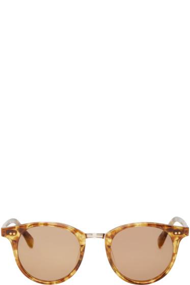 Garrett Leight - Amber Mark McNairy Edition Pinehurst Sunglasses