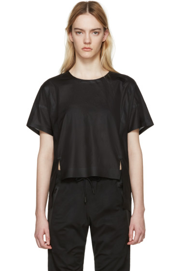 Y-3 SPORT - Black Box Cut Cooler T-Shirt