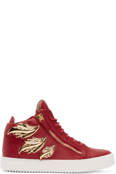 Giuseppe Zanotti - Red Wings London High-Top Sneakers