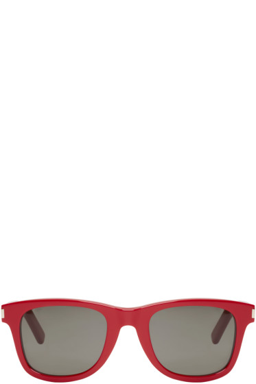 Saint Laurent - Red SL 51 Surf Sunglasses