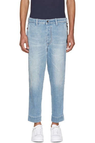 Diesel - Blue Carrot Chino Jeans