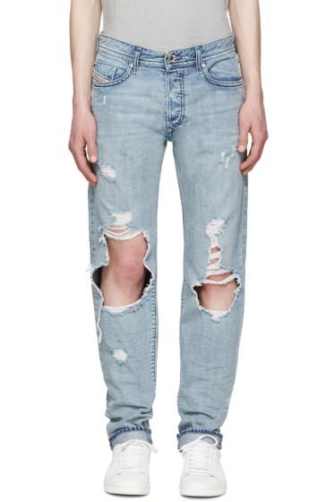 Diesel - Blue Slim Buster Jeans