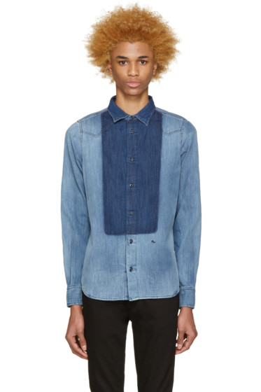 Diesel - Indigo Denim Mory Shirt