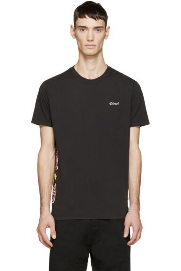 Diesel - Black T-Joe-O T-Shirt