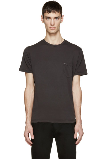 Diesel - Grey T-ZOS T-Shirt