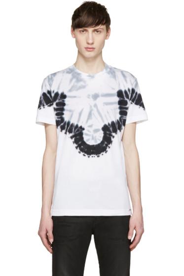 Diesel - White & Blue T-YE T-Shirt