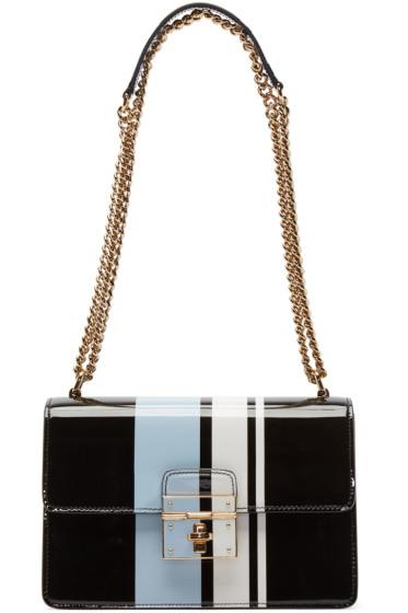 Dolce & Gabbana - Tricolor Striped Rosalia Bag