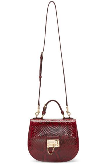 Dolce & Gabbana - Red Python Monica Bag