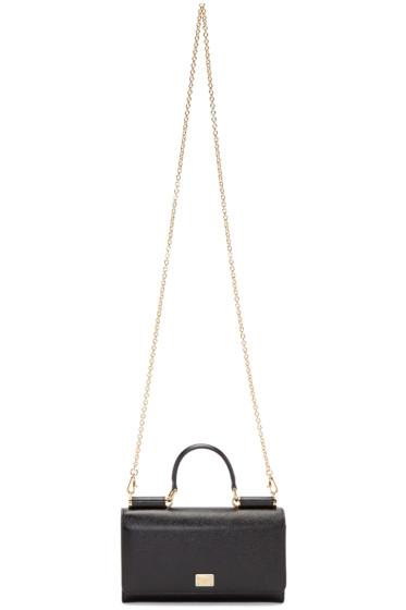 Dolce & Gabbana - Black Large Chain Wallet