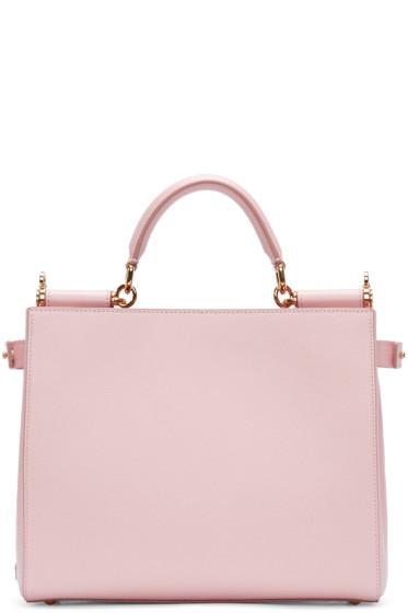 Dolce & Gabbana - Pink Medium Miss Sicily Tote