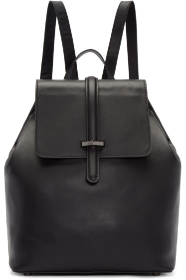 Mackage - Black Leather Kai Backpack