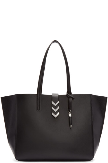 Mackage - Black Leather Aggie Tote